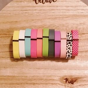Jewelry - Fit Bit Flex 11 Multi colored replacement bands